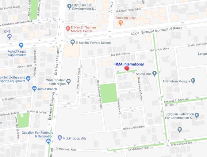 RMA Map